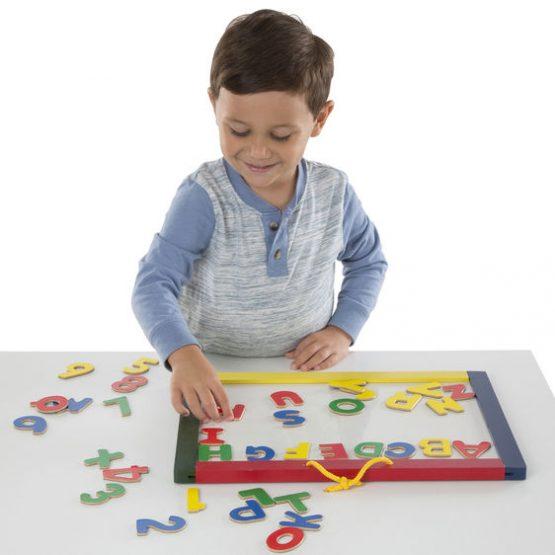 Magnetic Chalk & Dry-Erase Board