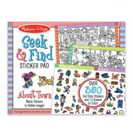 Seek & Find Sticker Pad Around Town