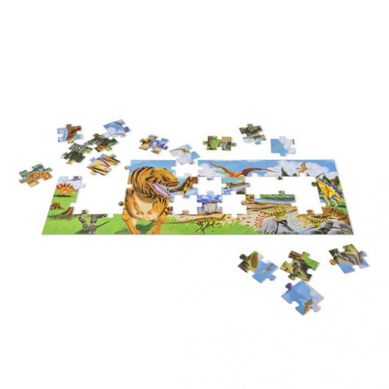 48 Piece Floor Puzzle Land Of Dinosaurs