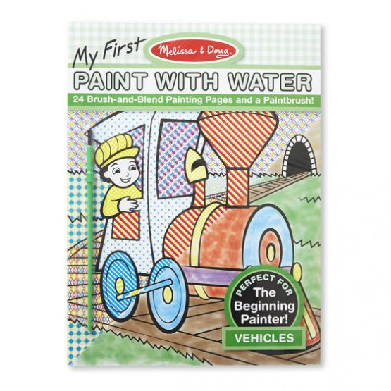 Paint With Water Vehicles