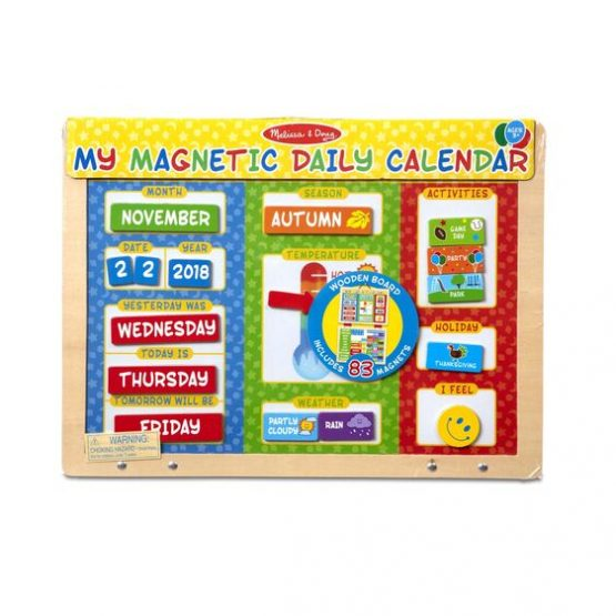 My Magnetic Daily Calendar