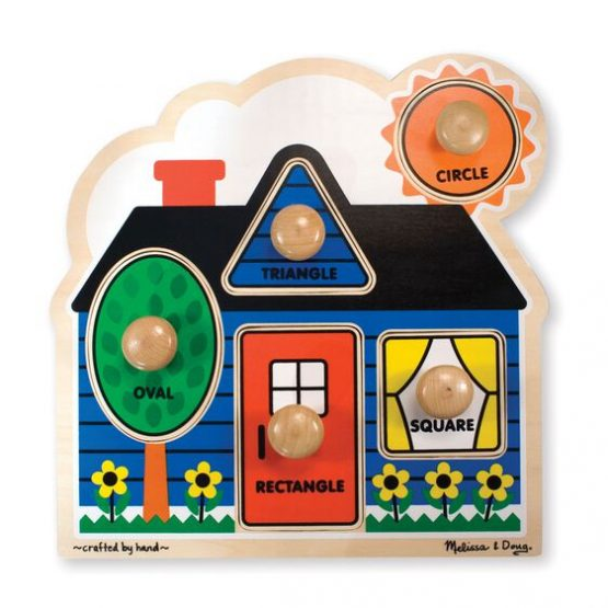 First Shapes Jumbo Knob – 5 Pieces
