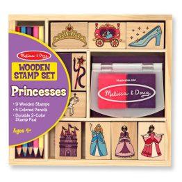 Wooden Stamp Set – Princesses