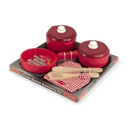 Play Kitchen Accessory Set – Pot & Pans