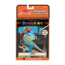 Scratch Art – Dinosaur