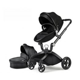 Hot Mom Cacoon 3 in 1 Multi-Function high landscape baby stroller travel system.