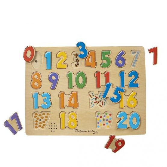 Numbers Sound Puzzle – 21 Pieces