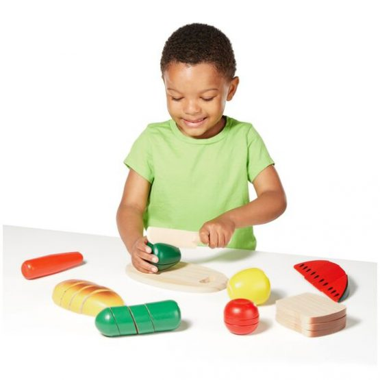 Cutting Food – Wooden Play Food