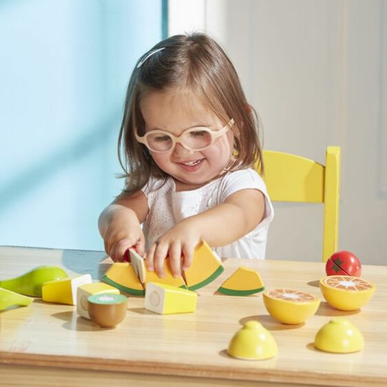 Cutting Fruit Set – Wooden Play Food