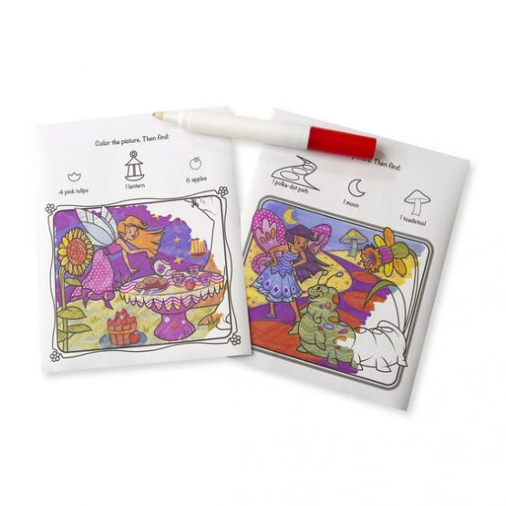 On the Go ColorBlast No-Mess Coloring Pad – Fairies