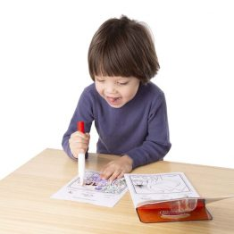 On the Go ColorBlast No-Mess Coloring Pad – Dinosaurs