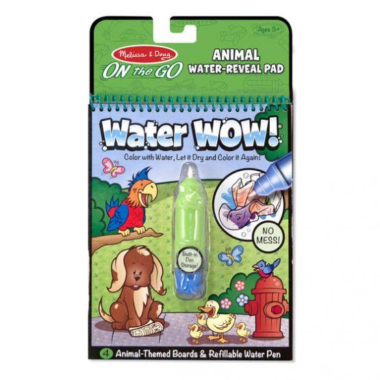 Water Wow! Animals – On the Go Travel Activity