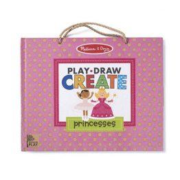 Natural Play: Play, Draw, Create Reusable Drawing & Magnet Kit – Princesses