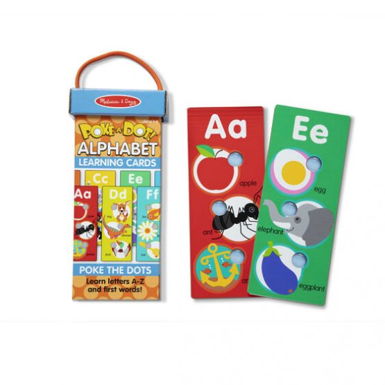 Poke-a-Dot Alphabet Learning Cards