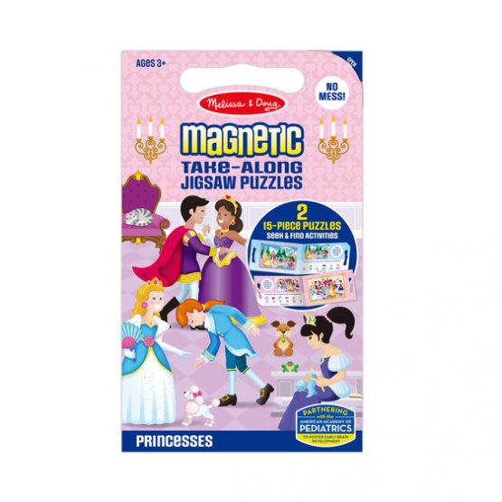 Take Along Magnetic Jigsaw Puzzles – Princesses