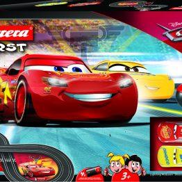 Carrera FIRST Disney Pixar Cars 3 Lightning McQueen Battery Operated 1:32 Slot Car Set