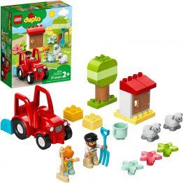 LEGO DUPLO Town Farm Tractor & Animal Care