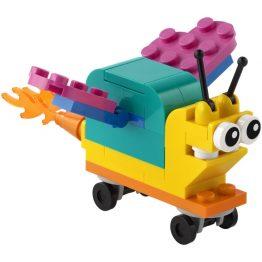 LEGO Creator Build Your Own Snail Polybag Set