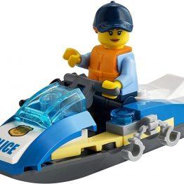 LEGO CITY Police Jet Ski Polybag Set