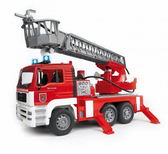 Bruder MAN TGA Fire engine with slewing ladder