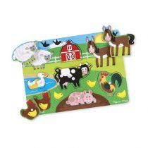 Farm Peg Puzzle – 8 pieces