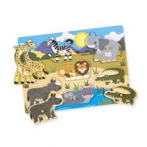 Safari Peg Puzzle – 7 Pieces